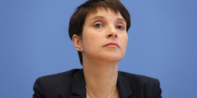 Frauke Petry kündigt Austritt aus der AfD an