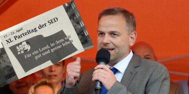 """""""Der Sozialismus 2.0"""": AfD-Spitzenpolitiker fällt auf gefälschtes DDR-Plakat herein"""