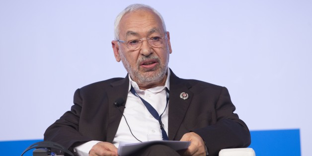 ROME, ITALY - DECEMBER 3: Rached Ghannouchi, president of the Tunisian Ennahdha party, speaks during the Forum MED Mediterranean Dialogues summit in Rome, Italy, on December 3, 2016. (Photo by Riccardo De Luca/Anadolu Agency/Getty Images)