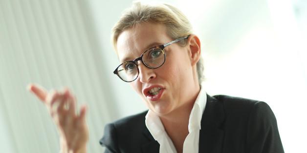 Alice Weidel, AfD-Spitzenkandidatin