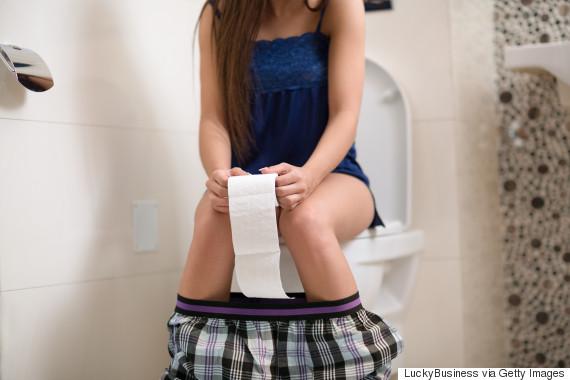 woman toilet