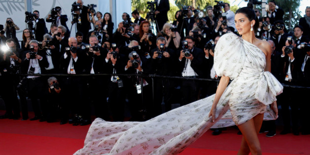 "70th Cannes Film Festival - Screening of the film the film ""120 battements par minute"" (120 Beats Per Minute) in competition - Red Carpet Arrivals - Cannes, France. 20/05/2017. Model Kendall Jenner poses. REUTERS/Regis Duvignau"