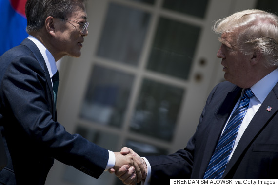 donald trump moon jae in