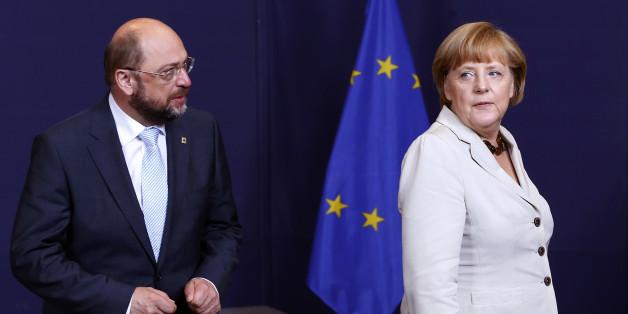 """""""Schulz redet Tacheles"""": Das erwarten internationale Medien vom TV-Duell zwischen Merkel und dem SPD-Chef"""