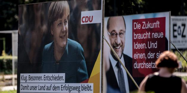 Merkel oder Schulz? Alle Umfrage-Werte, die ihr vor dem TV-Duell wissen müsst