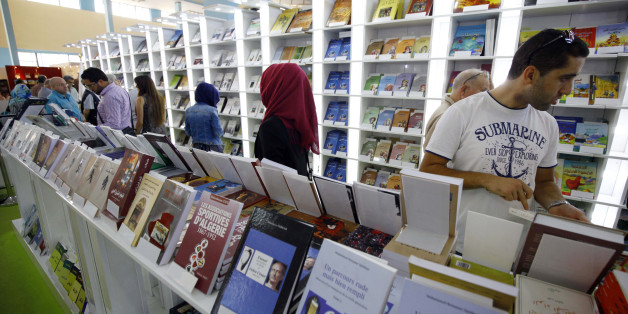 Algeria: 21th International Book Fair of Algiers (SILA) at the exhibition centre 'Palais des expositions Pins Maritimes' on 2016/10/31. (Photo by: Andia/UIG via Getty Images)