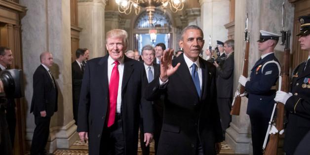 Obama hinterließ im Oval Office einen Brief mit vier Ratschlägen - an zwei hat sich Trump nicht gehalten