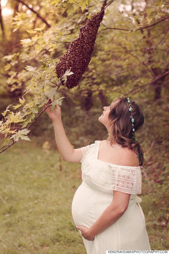 abeilles femme enceinte