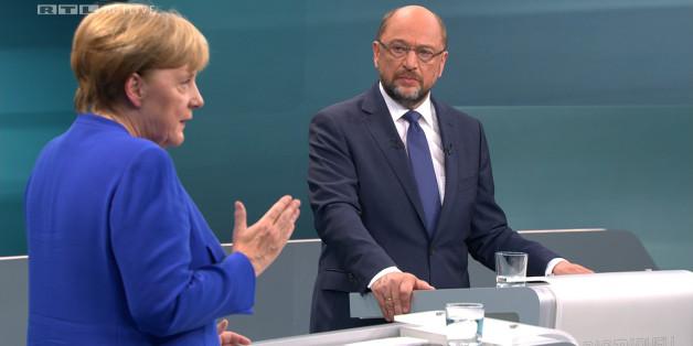 Die internationalen Medien sehen beim TV-Duell keinen eindeutigen Gewinner, weder Angela Merkel noch Martin Schulz