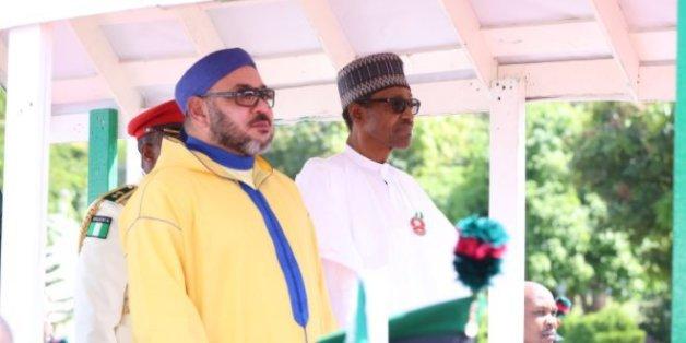 Le roi s'entretient au téléphone avec le président nigérian