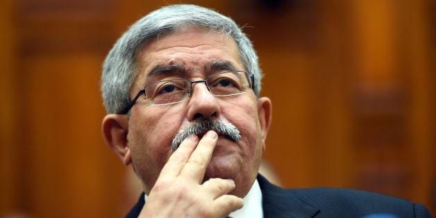 Ahmed Ouyahia au Sénat, le 4 septembre 2017