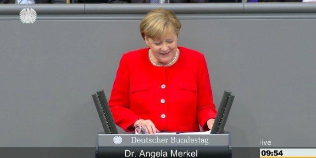 SPD-Generalsekretär Heil will Merkels Rede stören – doch die erteilt ihm eine Lektion