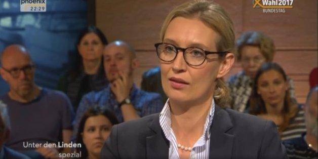 AfD-Spitzenkandidatin Alice Weidel.