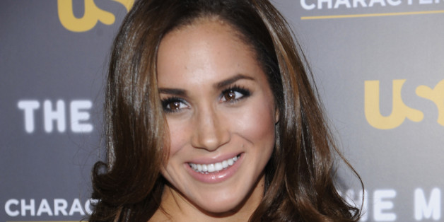 Actress Meghan Markle attends the USA Network and The Moth's Characters Unite Event at the Pacific Design Center in West Hollywood, California February 15, 2012. REUTERS/Phil McCarten (UNITED STATES - Tags: ENTERTAINMENT)