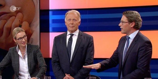 Geplanter Eklat? So begründet AfD-Frau Weidel ihren Talkshow-Abgang