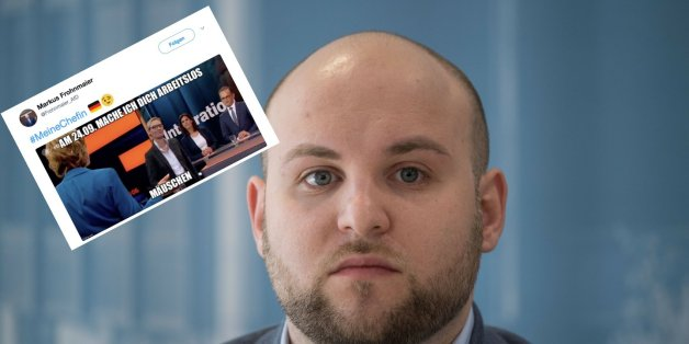 Chef der Jungen Alternative empört mit geschmacklosem Tweet nach ZDF-Eklat von Weidel