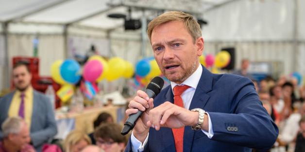 Christian Lindner will Kriegsflüchtlinge nach Friedensschluss in Heimat zurückschicken