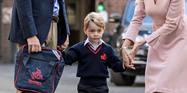 Prinz George geht jetzt in die Schule