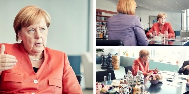 """Exklusiv-Interview mit Kanzlerin Angela Merkel: """"Ich halte nichts von einem allgemeinen Grundeinkommen"""""""