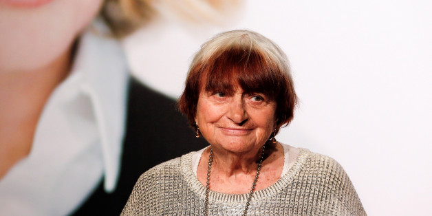 French director Agnes Varda attends the opening day of the Lumiere Festival in Lyon, France, October 8, 2016. REUTERS/Robert Pratta