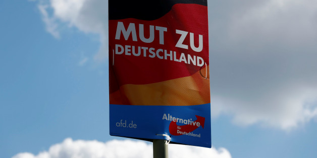 Wahlplakat der AfD