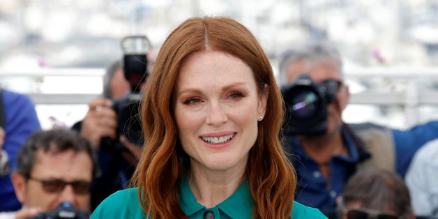 "70th Cannes Film Festival - Photocall for the film ""Wonderstruck"" in competition - Cannes, France. 18/05/2017. Cast member Julianne Moore poses. REUTERS/Stephane Mahe"