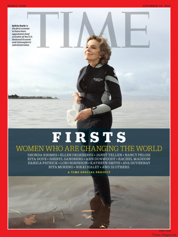 sylvia earle times magazine cover