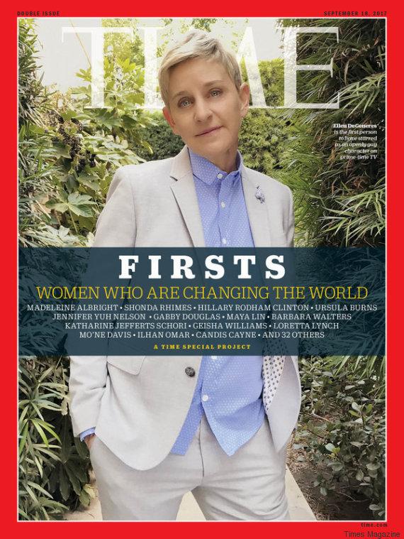 ellen degeneres times magazine cover