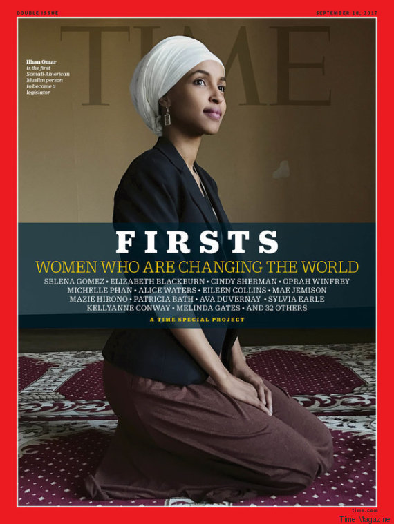 ilhan omar time magazine cover