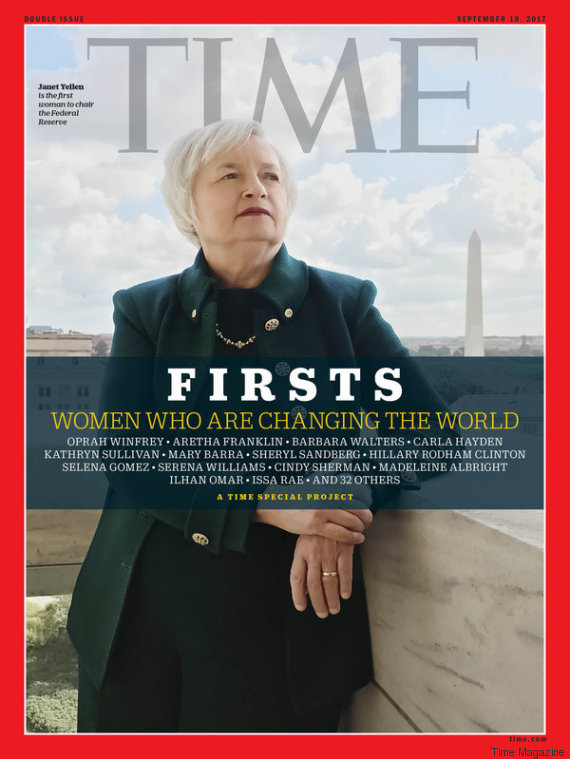 janet yellen time magazine cover