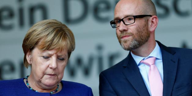 Angela Merkel mit CDU-Generalsekretär Peter Tauber
