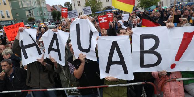 Anti-Merkel-Demonstration