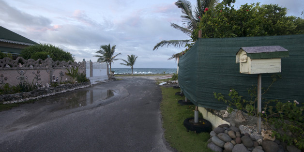 A deserted street is seen in the seashore town of Moule in Guadeloupe, evacuated during Hurricane Irma, and now preparing for Jose to strike, September 8, 2017. Officials on the island of Guadeloupe, where French aid efforts are being coordinated, suspended boat crossings to the hardest-hit territories of St. Martin and St. Barts where 11 people have died. Two days after Hurricane Irma swept over the eastern Caribbean, killing at least 17 people and devastating thousands of homes, some islands b