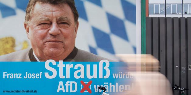 """""""Franz Josef Strauß würde AfD wählen""""? - Man weiß es nicht"""