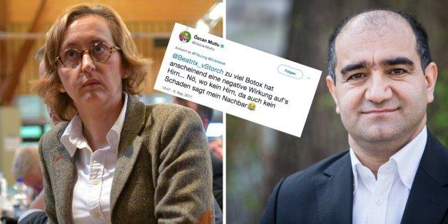 """""""Wo kein Hirn, da auch kein Schaden"""": Grünen-Politiker Mutlu geht auf AfD-Vize Storch los"""