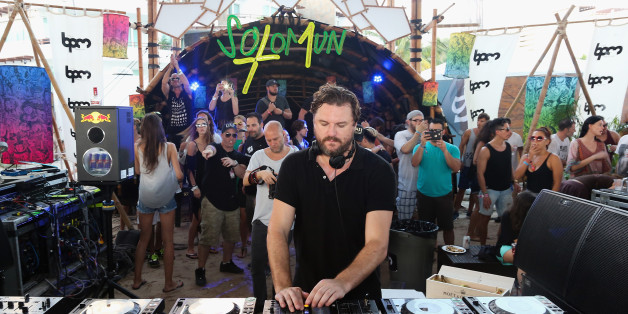 PLAYA DEL CARMEN, MEXICO - JANUARY 17:  DJ Solomun performs during the BPM 2016 at Martina Beach Club on January 17, 2016 in Playa del Carmen, Mexico.  (Photo by Victor Chavez/WireImage)