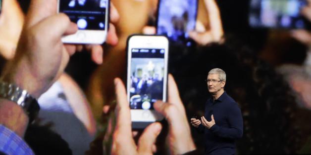 Das neue iPhone wird vorgestellt