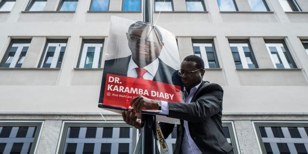 SPD-Bundestagskandidat Karamba Diaby.