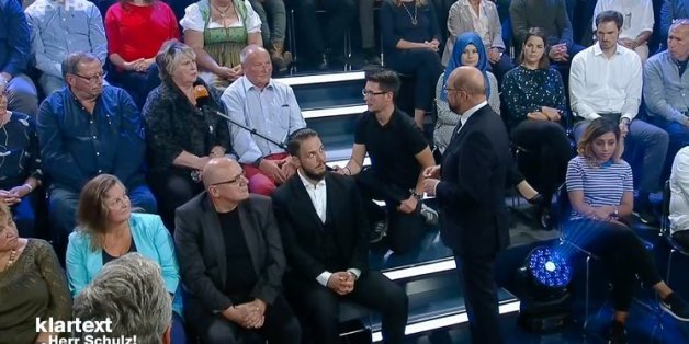 Eine Rentnerin konfrontiert SPD-Chef Schulz im ZDF mit ihrer Situation – der wird kurz richtig böse