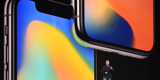 Senior Vice President of Worldwide Marketing at Apple Philip Schiller speaks about the iPhone X during a media event at Apple's new headquarters in Cupertino, California on September 12, 2017.  / AFP PHOTO / Josh Edelson        (Photo credit should read JOSH EDELSON/AFP/Getty Images)