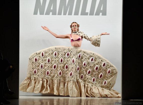 namilia my pussy my choice new york fashion week