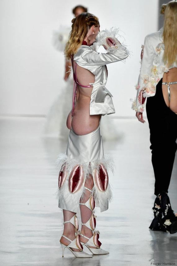 butt white dress namilia new york fashion week