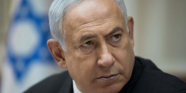 Israeli Prime Minister Benjamin Netanyahu attends a weekly cabinet meeting in Jerusalem, September 3, 2017. REUTERS/Abir Sultan/Pool