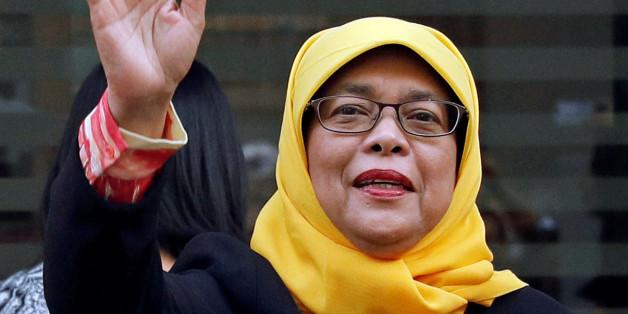 Qui est Halimah Yacob, première femme présidente de Singapour?