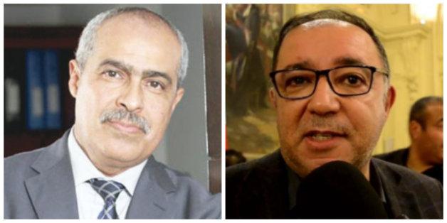 Hazim Jilali (à gauche) et Mustapha Labied, respectivement condamnés à 10 et 6 mois de prison ferme pour leur implication dans une affaire de corruption.