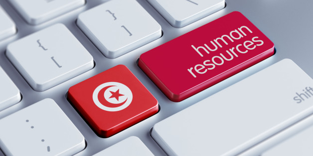 Tunisia High Resolution Human Resources Concept