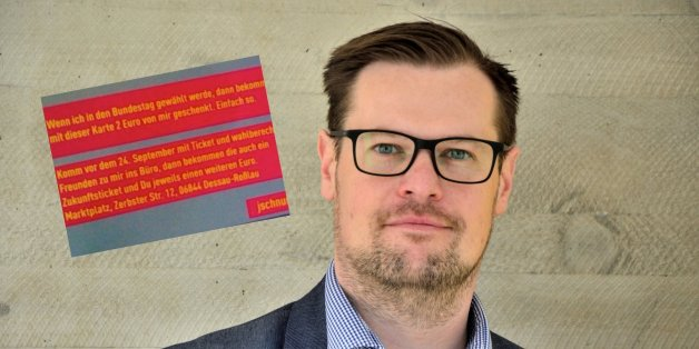 FDP-Kandidat bietet Jungwählern 2 Euro für ihre Stimme an - und sorgt für Empörung