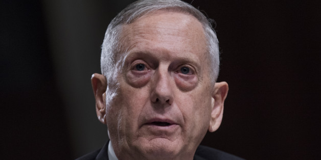 UNITED STATES - JUNE 13: Defense Secretary James Mattis testifies before a Senate Armed Services Committee in Dirksen Building on the Defense Authorization Request for Fiscal Year 2018 and the Future Years Defense Program on June 13, 2017. Chairman of the Joint Chiefs of Staff Gen. Joseph Dunford also appeared. (Photo By Tom Williams/CQ Roll Call)