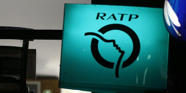 The logo of the RATP (Regie Autonome des Transports Parisiens) is seen in Paris, France, March 3, 2016.   REUTERS/Jacky Naegelen