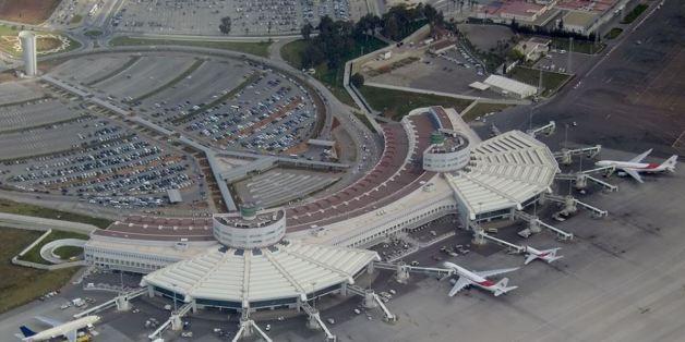 Nouvel aeroport d'Alger.